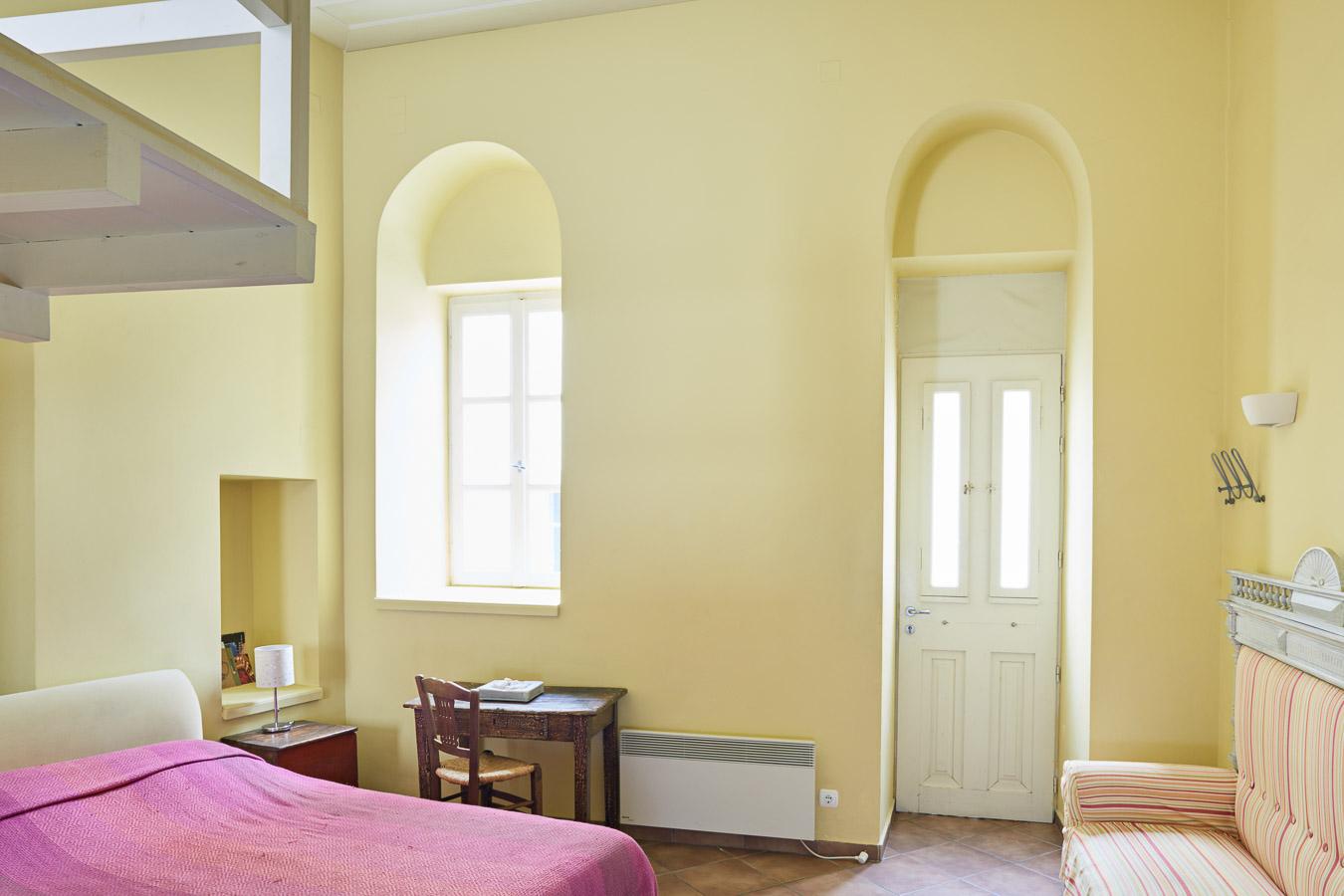 Blue and Yellow Mezzanine Studio – Accommodation – Lila Guesthouse ...